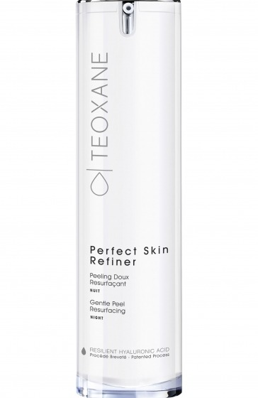 Gentle Peel Resurfacing NIGHT - Optimum balance of resurfacing Glycolic Acid (10%) and soothing ingredients in a daily hydrating night care to reveal a new skin.